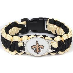 Other - New Orleans Saints Paracord Bracelet